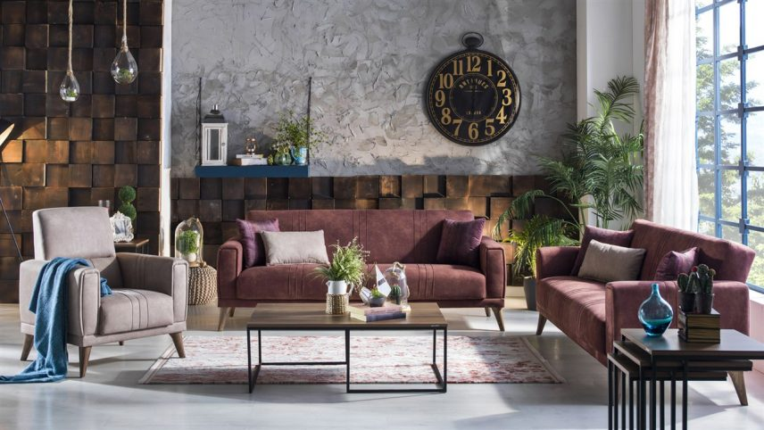 Ruby Great Sofa Set Bellona